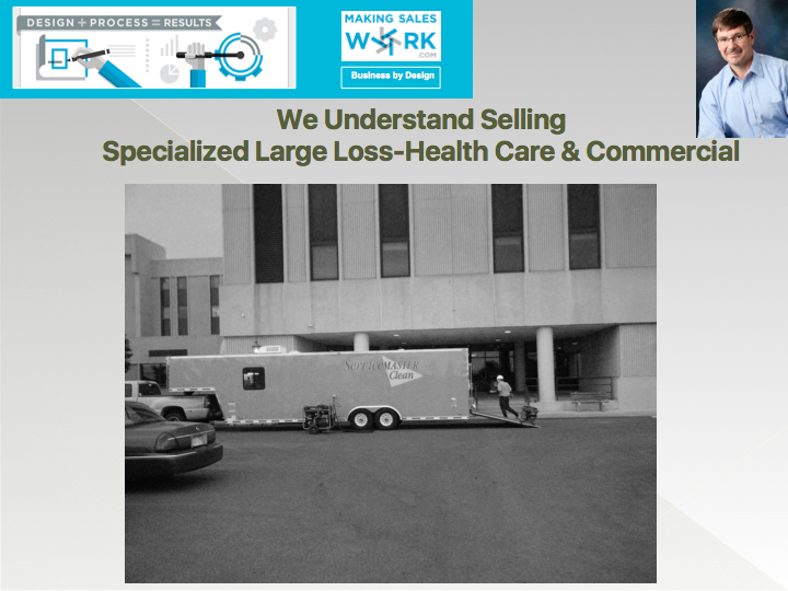 We understand selling - Specialized Large Loss, Specialized Health Care and Commercial