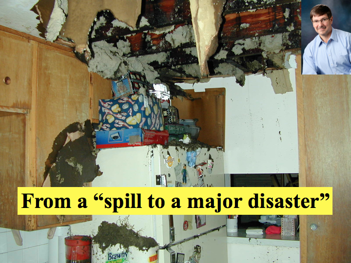 From a spill to a major disaster
